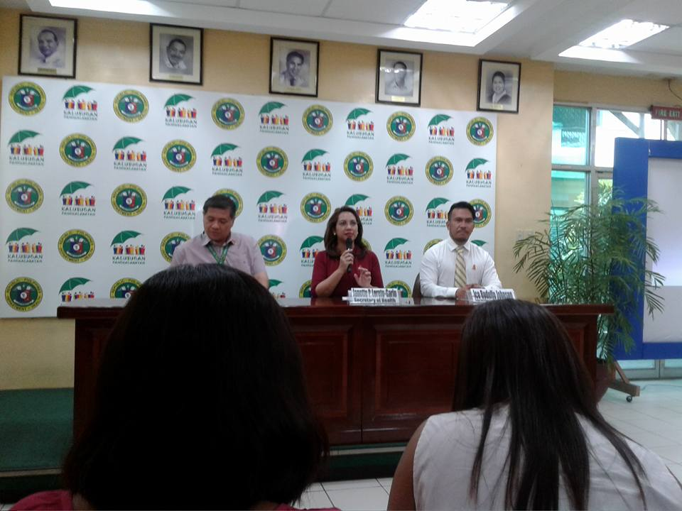 """We reiterate that cleanliness is still the key against mosquito-borne diseases. The public is reminded to be vigilant and take precautions in eliminating mosquito breeding places,"" Health Secretary Janette Garin said. (PNA photo)"