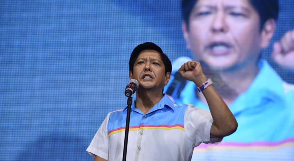 Marcos believed that he was cheated in the recent presidential elections where he lost his vice presidential bid by more than 200,000 votes against his closest rival, Camarines Sur Rep. Leni Robredo.  (Photo: Marcos' official Facebook page)