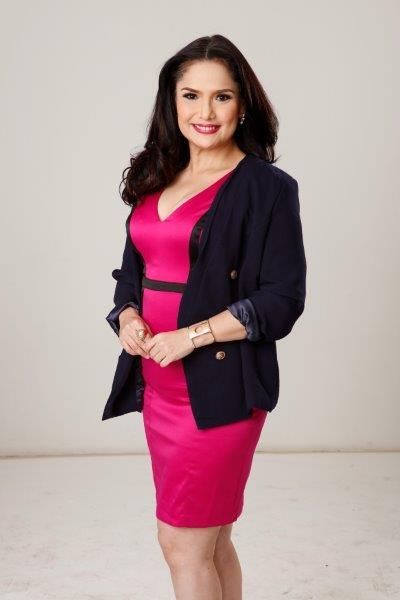 """""""Noong una, parang naiilang ako kasi hindi ko forte ang comedy. Pero noong bandang huli, ay okay na,"""" admits the veteran actress. (Contributed photo)"""