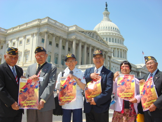 An estimated 2,000-6,000 Filipino-American World War II veterans are living in the United States today. (Photo courtesy of American Coalition for Filipino Veterans Inc.)