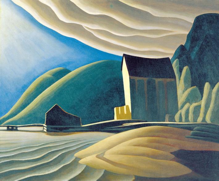 Title: Ice House, Coldwell, Lake Superior Artist: Lawren Harris Medium: Oil on canvas Size: 94 x 114.3 cm