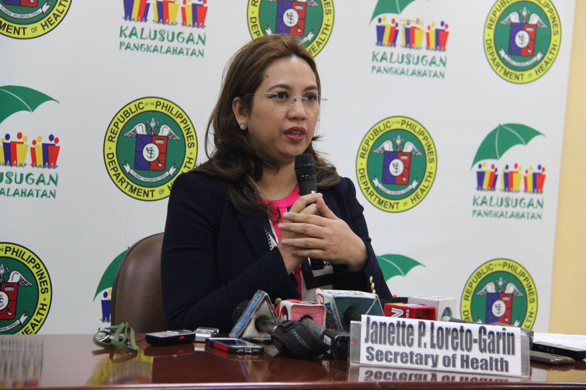 """Studies have shown that most young people who smoke regularly continue to smoke throughout adulthood and fall prey to being 'replacement smokers' of the tobacco industry,"" said DOH Secretary Janette L. Garin. (Photo: DOH's official Facebook page)"