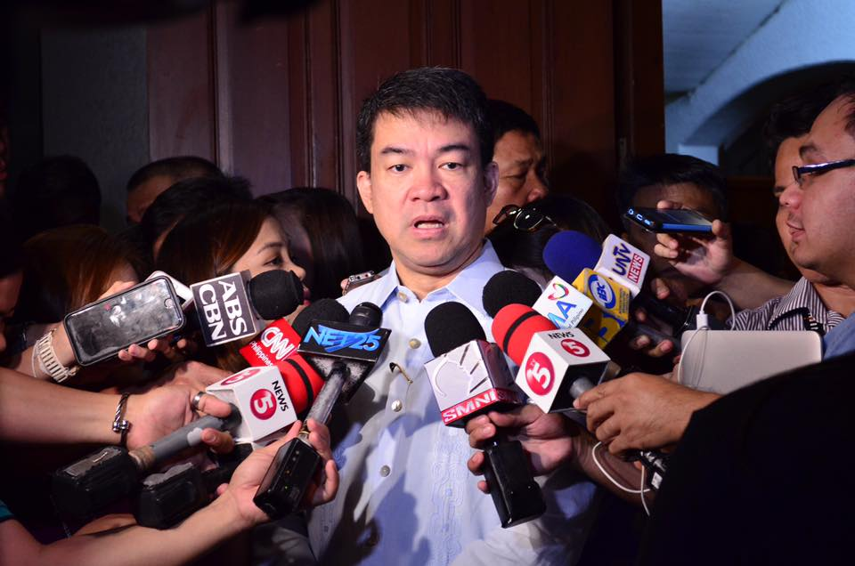 Pimentel (in photo) is the only senator of the Partido Demokratikong Pilipino-Lakas ng Bayan (PDP-Laban) which is the national political party of Duterte. (Photo: Koko Pimentel/Facebook)