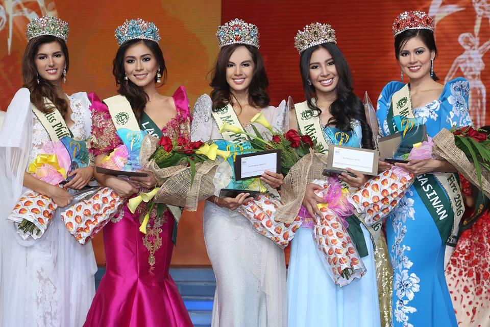 Miss Philippines-Earth 2016 Imelda Bautista Schweighart (middle)  (Photo: Miss Miss Philippines-Earth Facebook page)