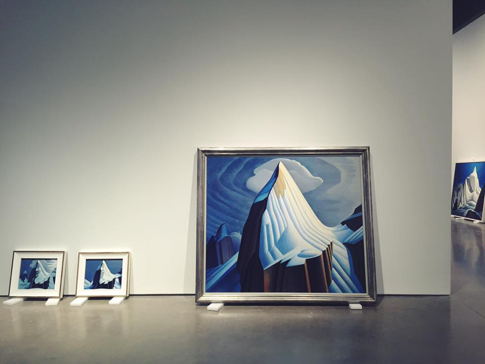 "After opening to audiences in Los Angeles and Boston, ""The Idea of North: The Paintings of Lawren Harris"" will welcome visitors at the AGO beginning on Friday. (Photo: Art Gallery of Ontario's official Facebook page)"