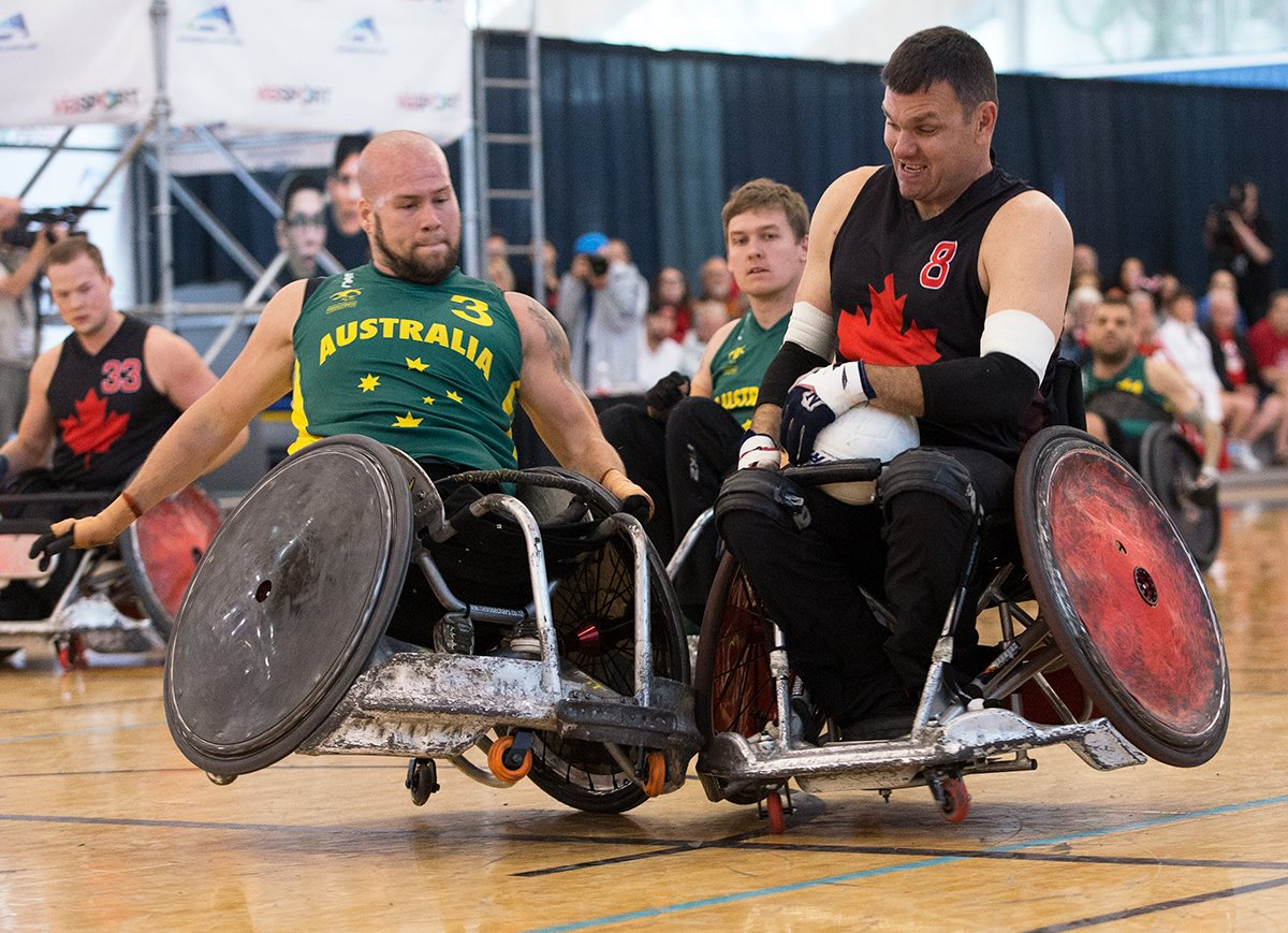 Photo: Canada Cup Wheelchair Rugby International Tournament/Facebook