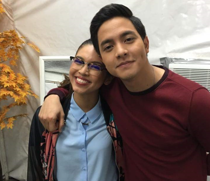 """Growing visibly closer and more comfortable with each other in their first year together onscreen, AlDub, a combination of Alden and Yaya Dub, Maine's character on Kalyeserye, showed off their strong chemistry in the trailer for """"Imagine You and Me"""" which made fans around the world giddy with excitement. (Contributed photo)"""