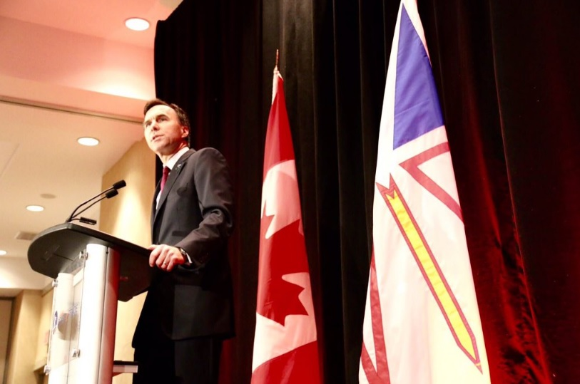 Canada's Finance Minister Bill Morneau. (Photo: Bill Morneau/Twitter)