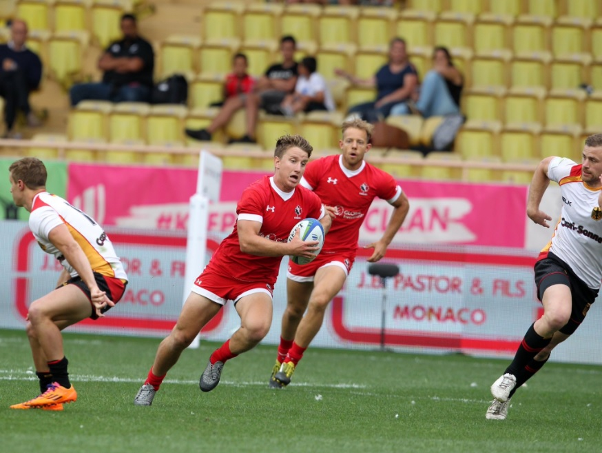 Canada's Olympic men's rugby team loses to Russia. (Photo: Rugby Canada)