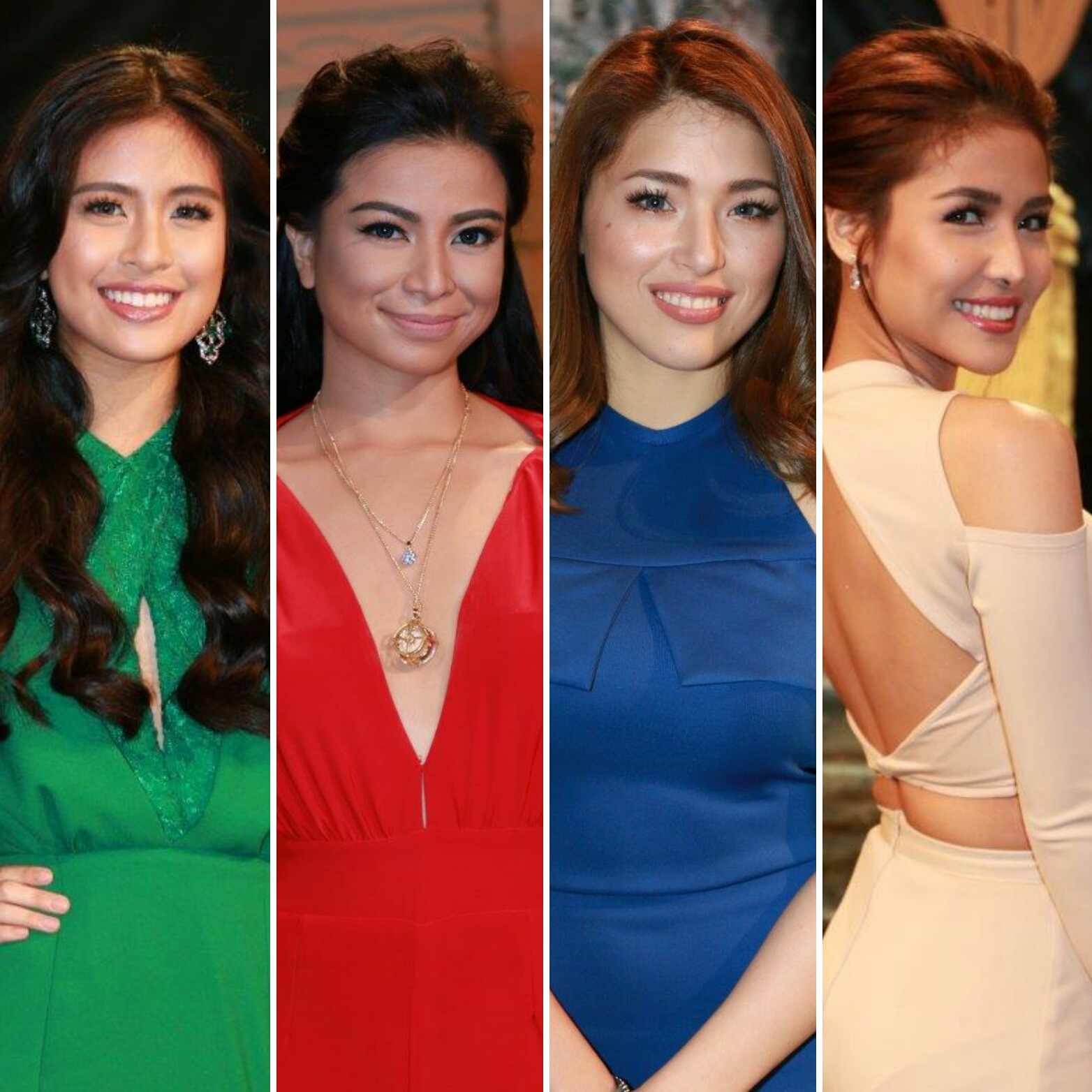 Home-grown Kapuso stars, Kylie Padilla, Gabbi Garcia, Sanya Lopez and Glaiza de Castro were chosen to portray the roles of the four Sang'gres – Amihan, Alena, Danaya and Pirena – or guardians of the elemental gems. (Contributed photo)