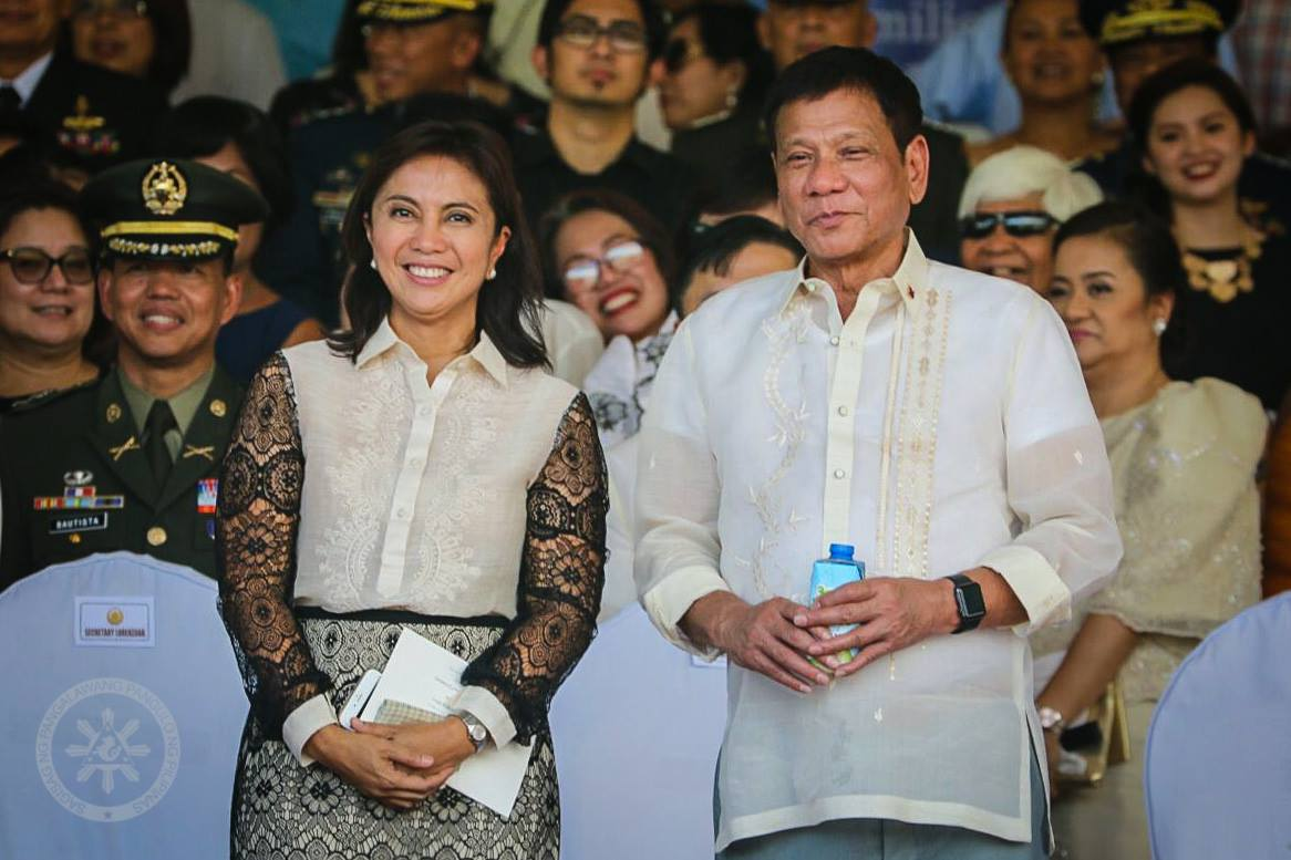 Senators on Thursday decried reported impeachment plots against both Pres. Rodrigo Duterte and Vice Pres. Leni Robredo and urged both their supporters to stop being divisive.  (Photo: Leni Robredo/Facebook)