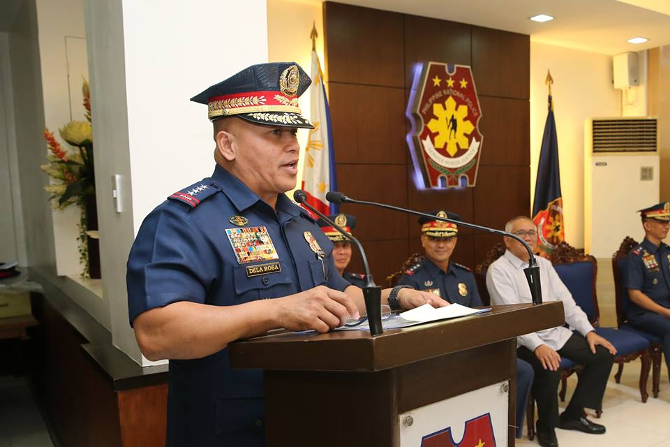 "Dela Rosa urges cops to undergo ""internal soul-searching""  (Photo: PNP's official Facebook page)"