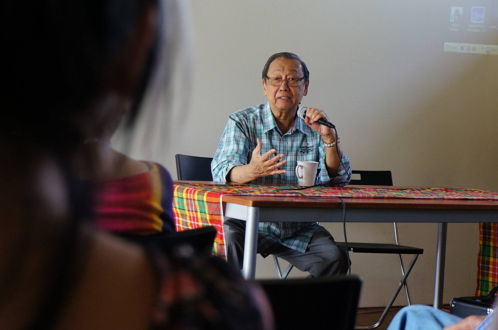 National Democratic Front (NDF) political consultant Jose Maria Sison. (Photo by Janess via Joma Sison on Facebook)