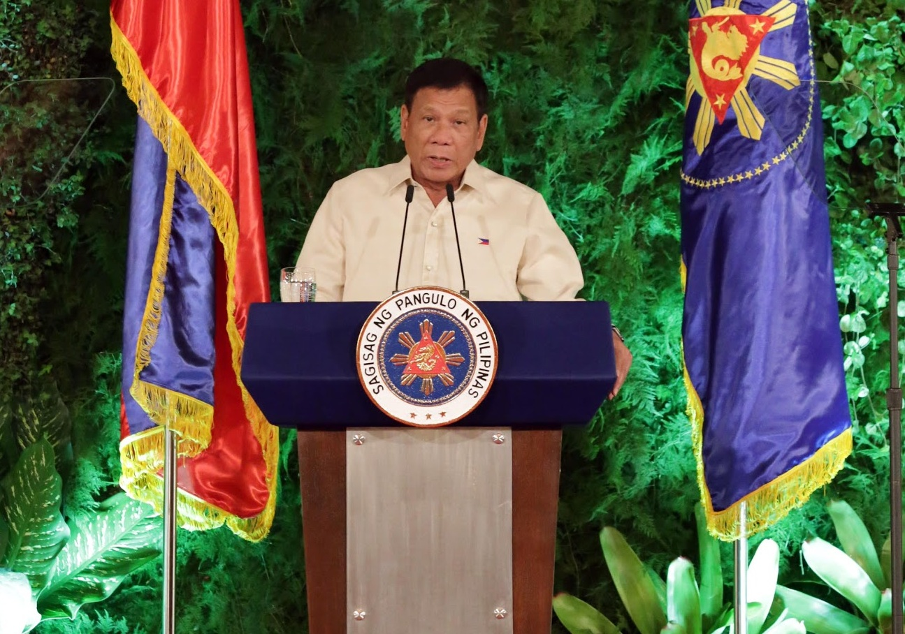 FILE PHOTO: President Rodrigo Duterte (PCOO photo)