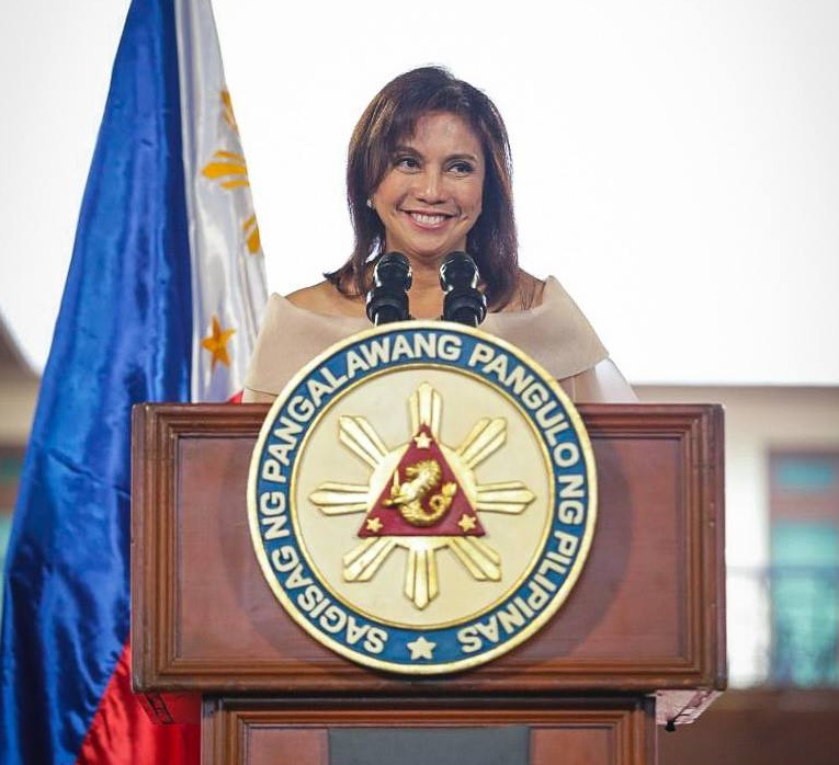 Affected by the war on drugs video message sent to the United Nations, Vice President Leni Robredo's public satisfaction slid by 11 percentage points in the first quarter of 2017. (Photo: Leni Robredo/Facebok)