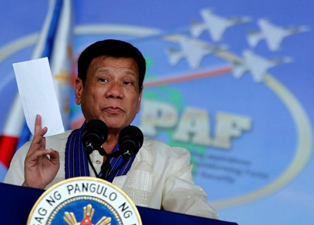 Philippine president Rodrigo Duterte. (Photo: Rey Baniquet/PPD)
