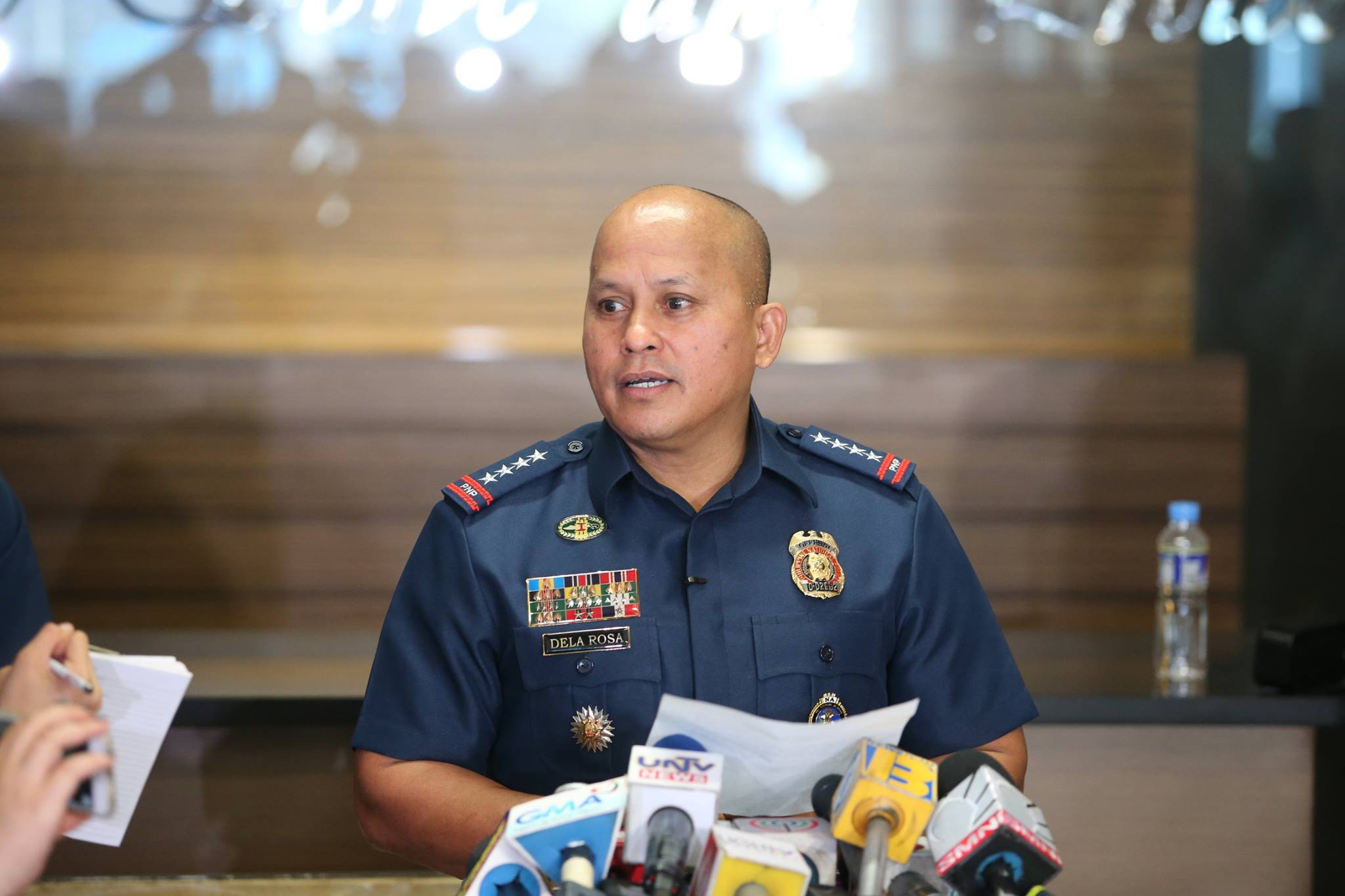 "PNP chief Ronald ""Bato"" Dela Rosa. (Photo: Philippine National Police/Facebook)"
