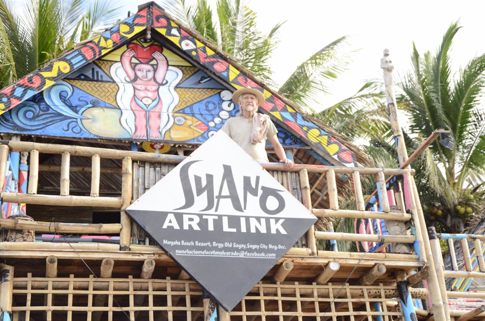 "Located in Margaha Beach Resort, Barangay Old Sagay in Sagay City, ""Kape Albarako"" is a 45-square-meter beach front property owned by 66-year-old artist, Nunelucio Alvarado, who himself hails from Sagay. (PNA photo)"