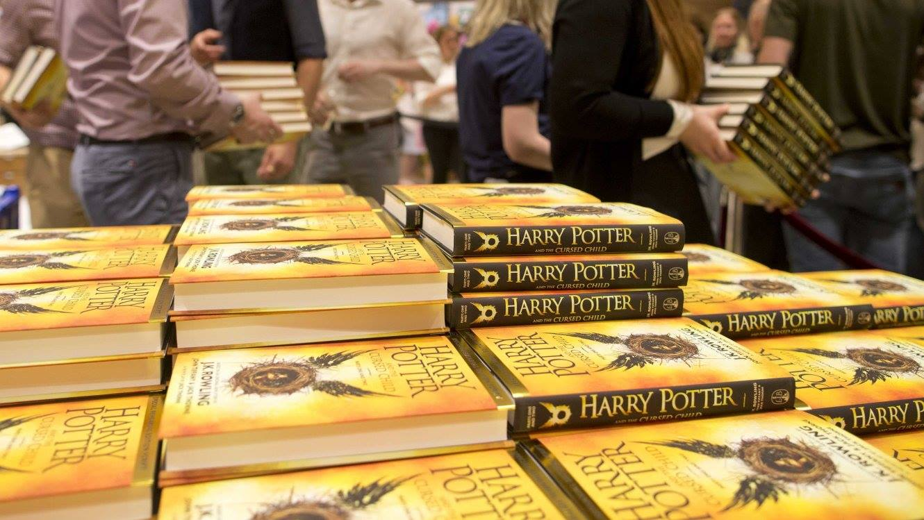 "The script to the London stage production ""Harry Potter and the Cursed Child Parts One and Two"" sold more than 2 million print copies in North America in its first two days of publication.  (Photo: Official Pottermore Facebook Page)"