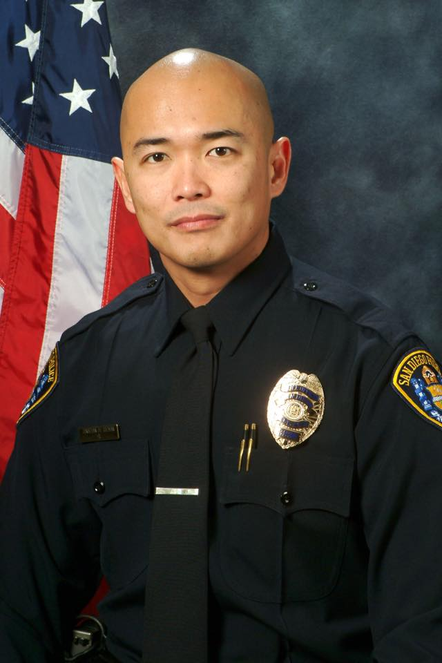 Jonathan De Guzman, slain Filipino San Diego Police officer. (Photo: San Diego Police Department)