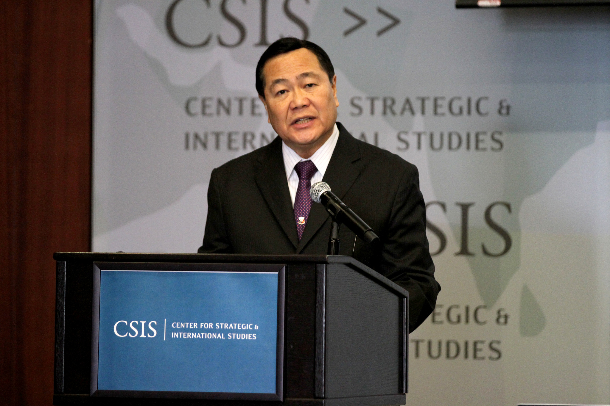 Supreme Court Senior Associate Justice Antonio Carpio. (Photo by  Center for Strategic & International Studies/Flickr, CC BY-NC-SA 2.0)