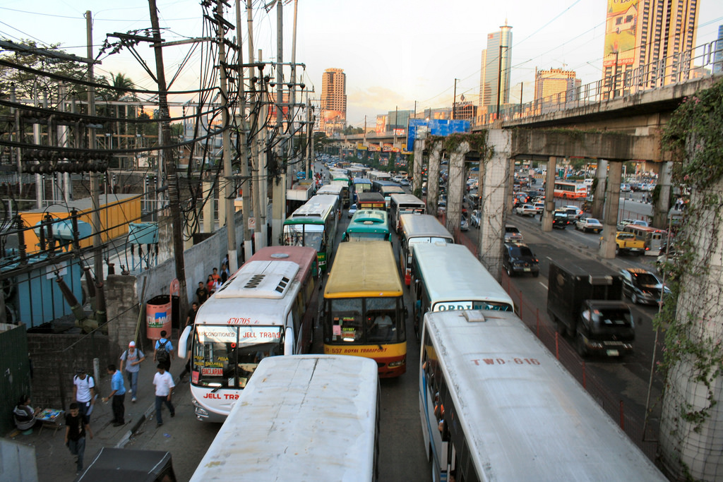 Manila traffic (Photo by Chris Griffin/Flickr)