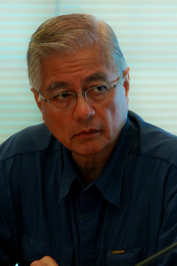Former Department of Interior and Local Government Secretary Rafael Alunan III. (Photo by International Rice Research Institute (IRRI)/Flickr)