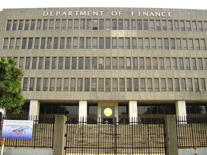 A ranking official of the Department of Finance (DOF) said the tax reform proposal will be evidence-based, thus, any suggestion to remove groups from the proposed list of those who will be removed of their value added tax (VAT) exemption right must be studied.  (Photo: Edgar Dann Alcantara, Sheena Thea Alcantara/Wikipedia)