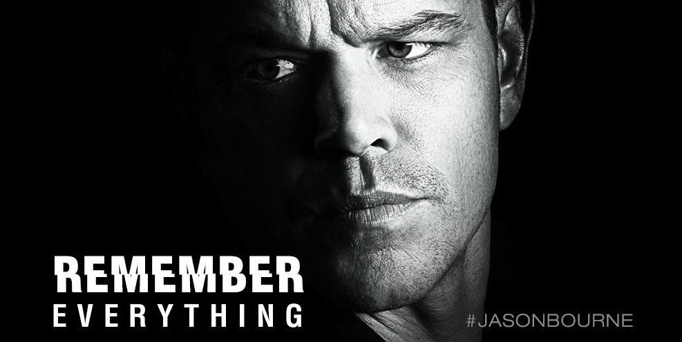 Even after a nearly 10-year hiatus, Matt Damon as Jason Bourne still draws a significant audience. (Twitter photo)