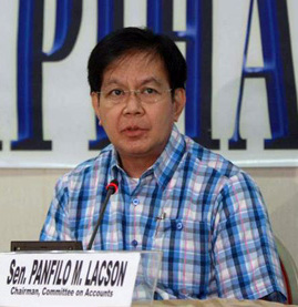 "Under Senate Bill 982, Senator Panfilo ""Ping"" Lacson seeks to amend parts of Republic Act 9485 to include original applications among those subjected to automatic approval if it is not acted upon within the prescribed period. (Wikipedia photo)"