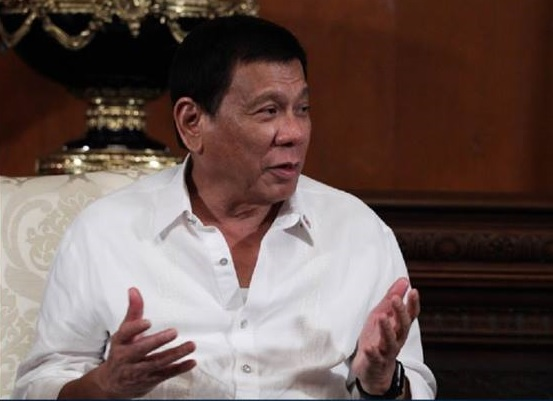 """Hitler massacred 3 million Jews ... there's 3 million drug addicts. There are. I'd be happy to slaughter them,"" Duterte said. (PCO photo)"
