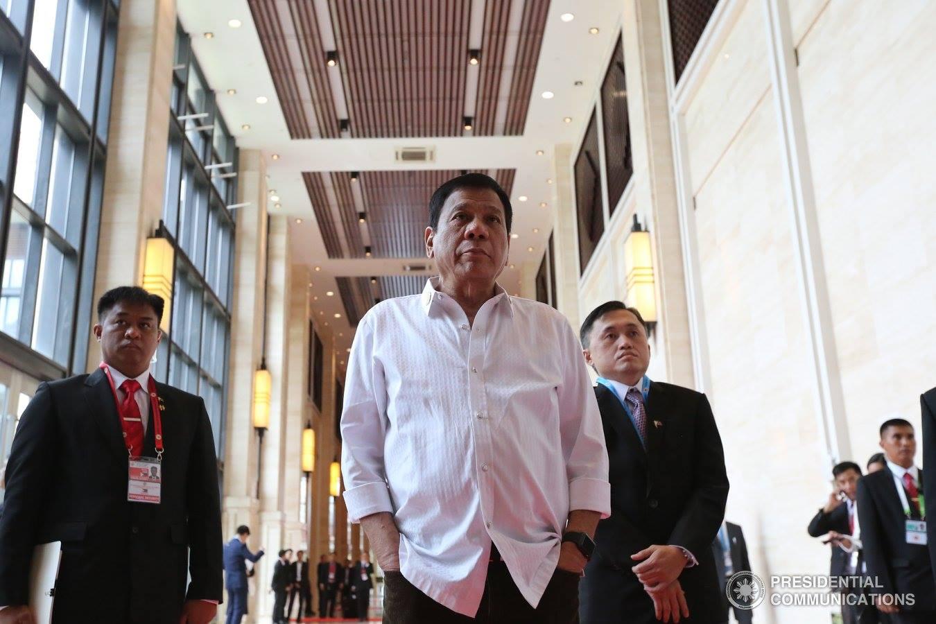FILE PHOTO: Philippine President Rodrigo Duterte in Laos. (PCO photo)
