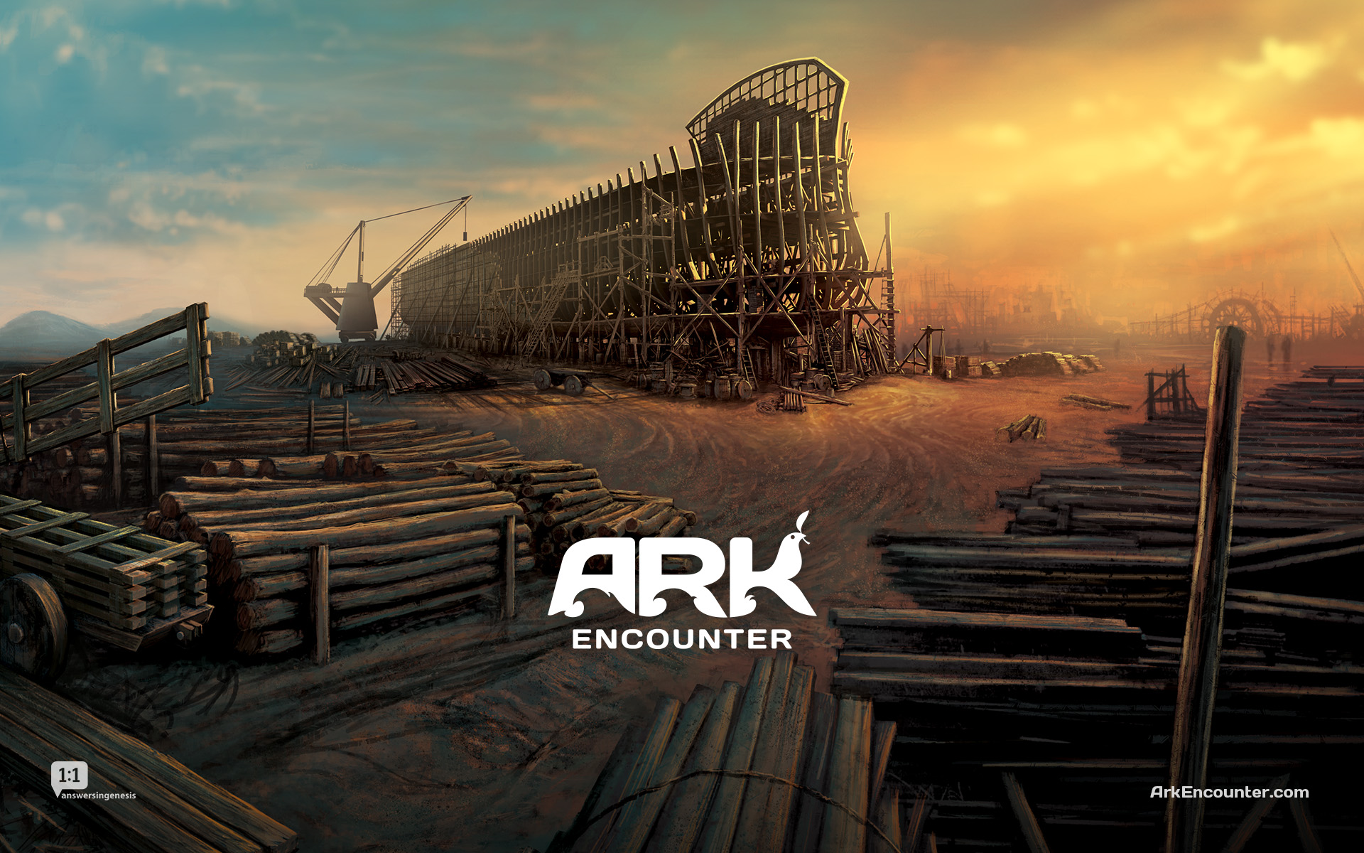The Saskatchewan replica would be three-storeys high, 23 metres wide and 135 metres long — nearly the length of a CFL football field. It would also contain a children's playground. (Photo: Ark Encounter)