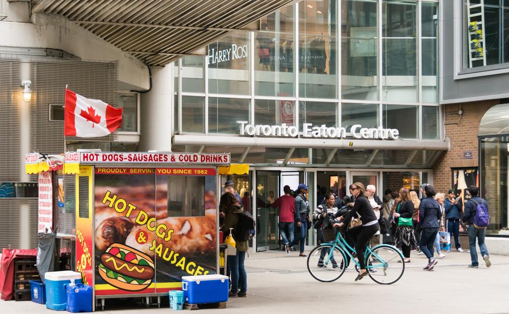 Man Stabbed at Toronto Eaton Centre