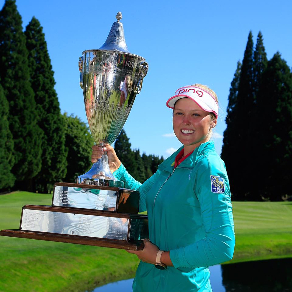 Canadian golfer Brooke Henderson. (Photo: Brooke Henderson/Facebook)