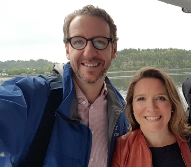 The prime minister's chief of staff Katie Telford (right) and principal secretary Gerald Butts (left) posted a joint statement on their Facebook pages Thursday, taking full responsibility for the expenses and apologizing for all the fuss. (Twitter photo)