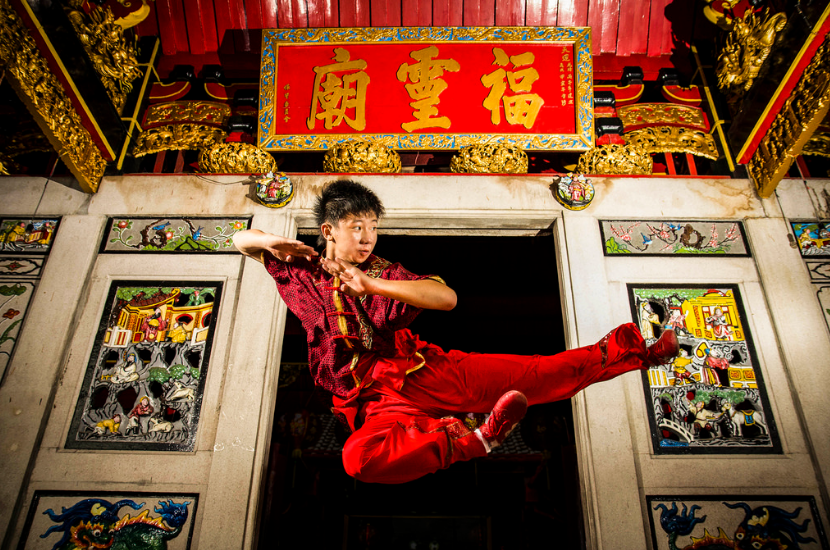 Wushu is a full-contact sport developed in China in an effort to standardize the practice of traditional Chinese martial arts. (Photo: Ade Putra/Flickr)