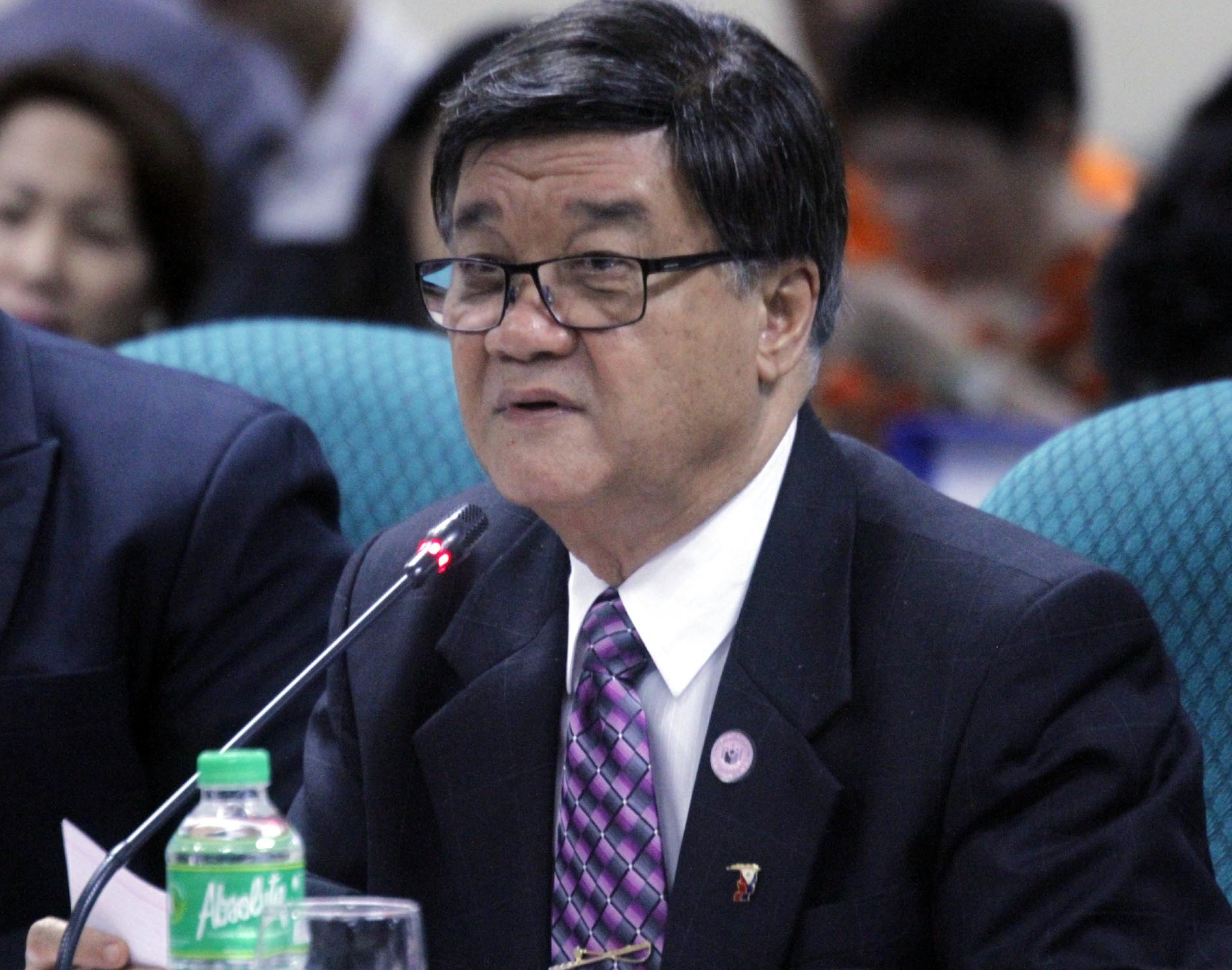 "In his letter, Aguirre (pictured) said such move is necessary so that ""justice may run its course without fear or violence and threat thereof"". (Photo: Jess Escaros Jr./PNA)"