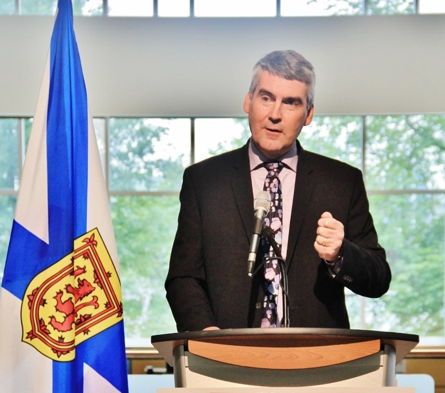 Liberal Premier Stephen McNeil fended off multiple attacks on his record Thursday as Nova Scotia's major-party leaders clashed over health care, education and the economy during a leaders debate. (Twitter photo)