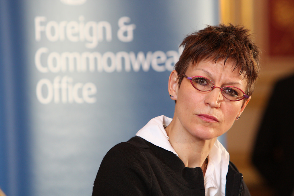 United Nations (UN) Special Rapporteur on Extrajudicial/Summary or Arbitrary Executions Agnes Callamard. (Photo: Foreign and Commonwealth Office/Flickr, CC BY 2.0)