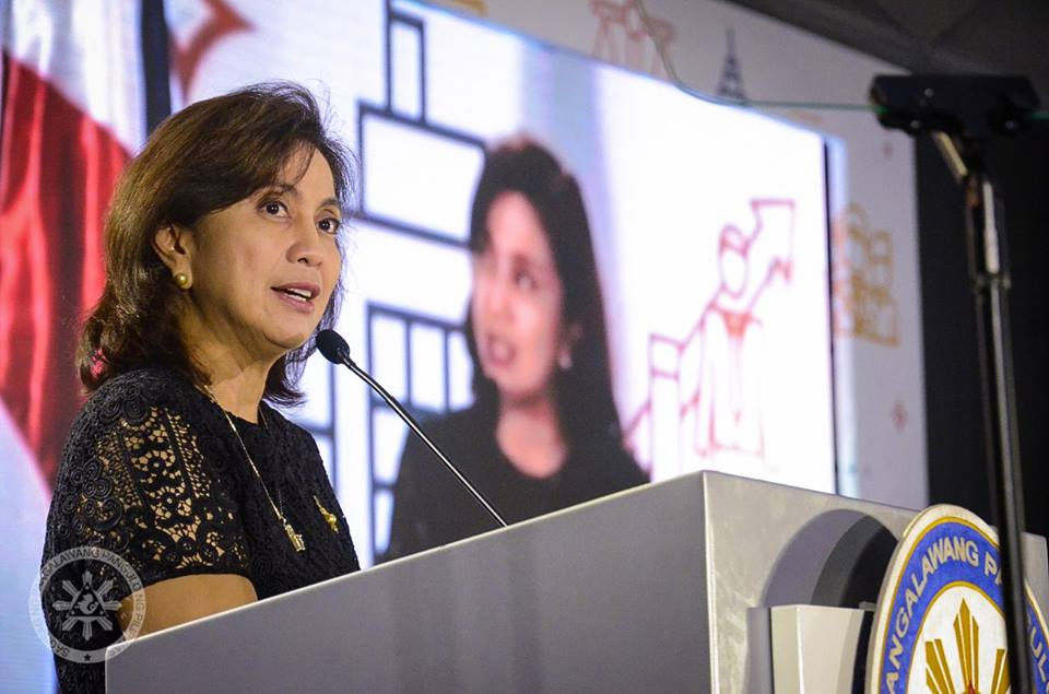 Deputy Speaker Romero Quimbo on Thursday called on members and allies of the current administration to heed President Rodrigo Duterte's call to stop any impeachment move against Vice President Leni Robredo. (Photo: Leni Robredo/Facebook)