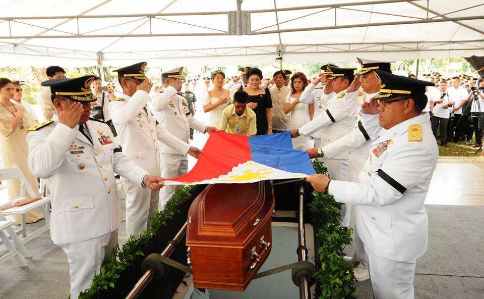 The burial of Marcos proceeded last Nov. 18 (PNA photo courtesy of Imee Marcos' Facebook page)