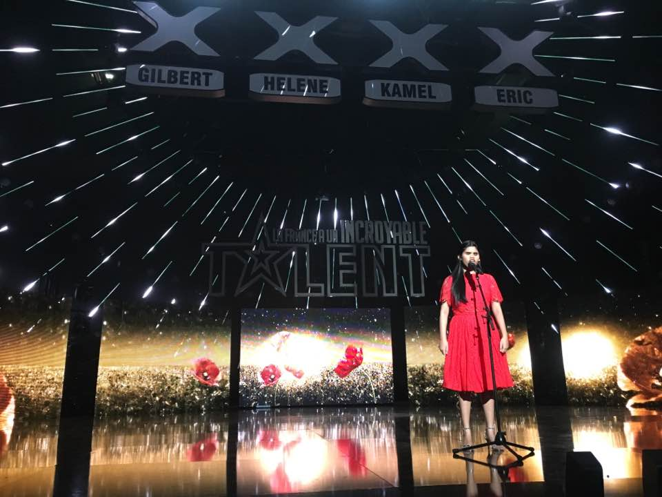 blind filipina singer makes it to french talent show 39 s grand finals philippine canadian inquirer. Black Bedroom Furniture Sets. Home Design Ideas