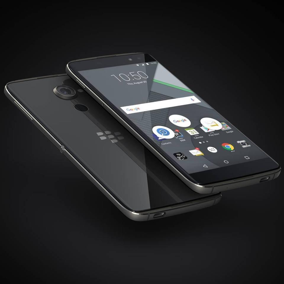 Blackberry Smartphone DTEK60 (Photo from Blackberry's Facebook account)