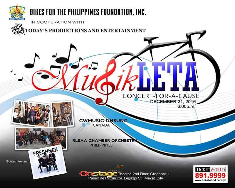 Musikleta: Concert for a Cause
