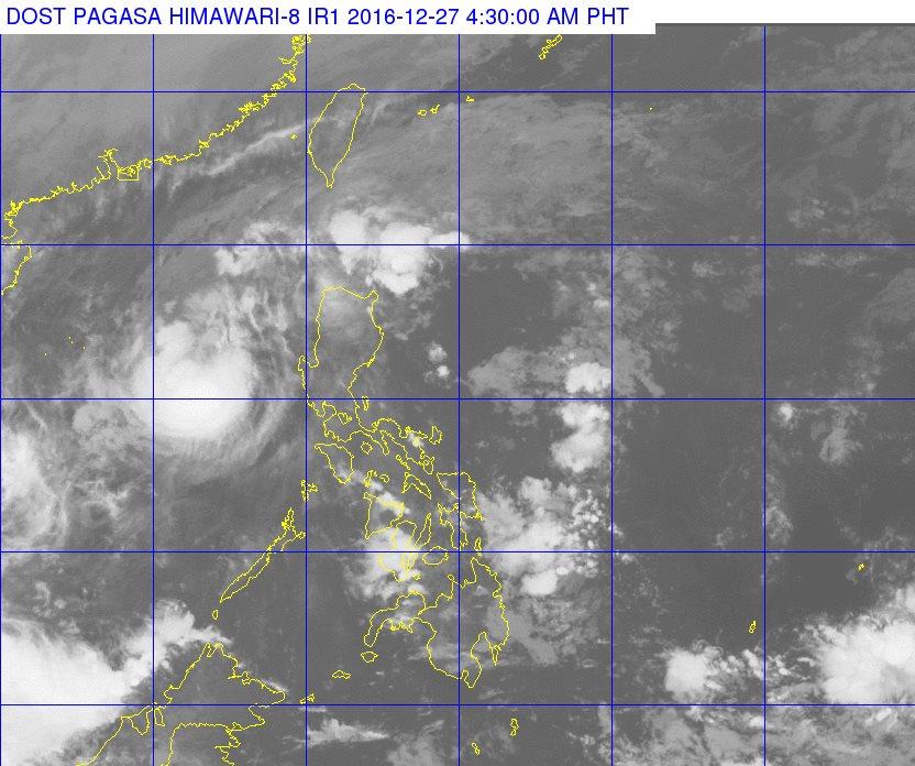 Typhoon Nina (Photo from DOST_pagasa Facebook page)