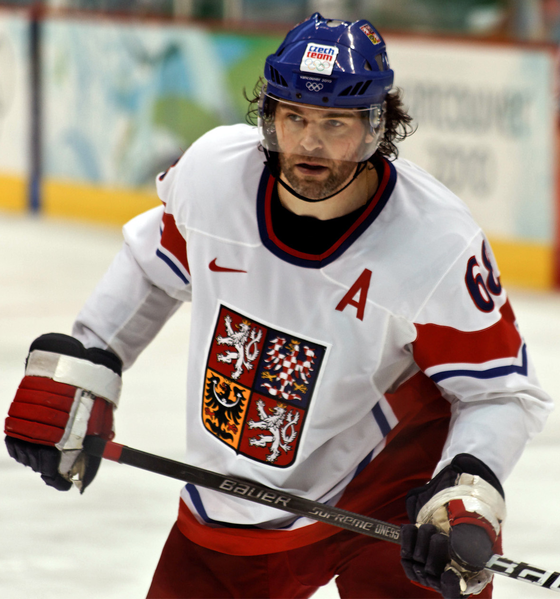 Jaromir Jagr (Wikipedia Photo)