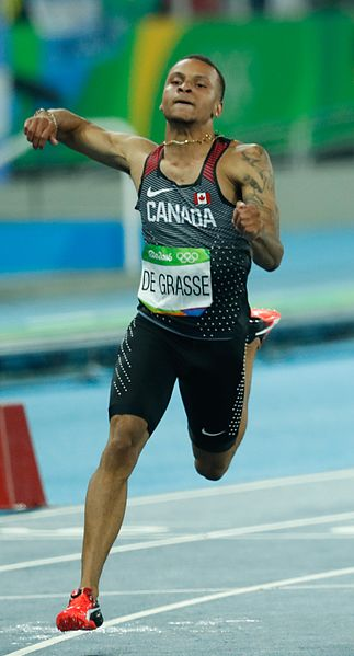 Andre De Grasse (Wikipedia Photo)