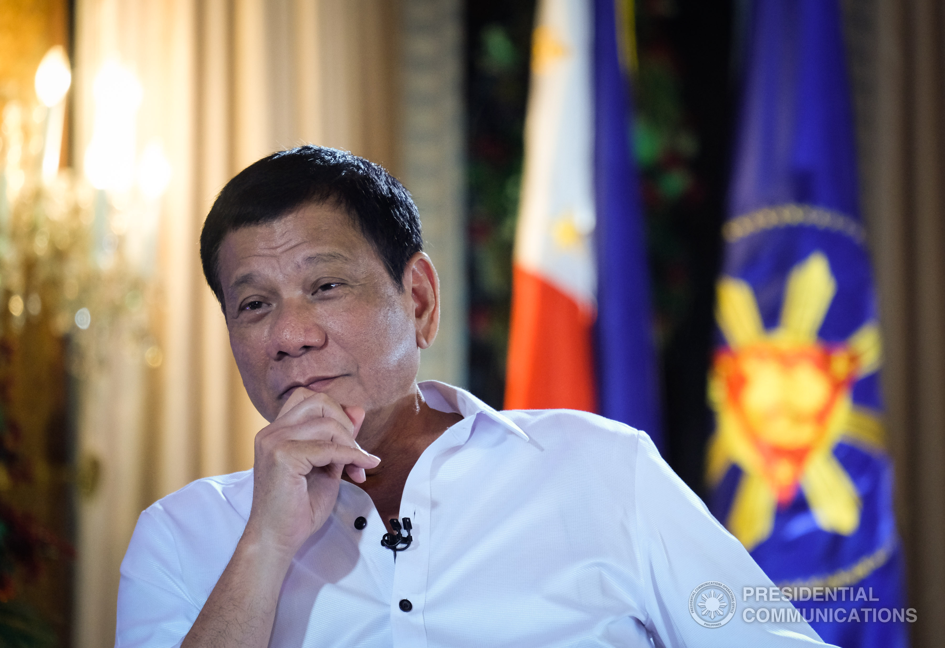 Duterte did not explain the basis for his suspicions, but he has led a brutal crackdown against illegal drugs since he took office in June. (PCO photo)