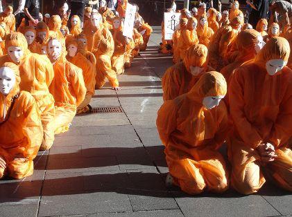 Guantanamo prisoners (Flickr Photo)